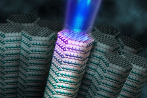 Scientists Build New Nanometer-Sized Laser Using a Single Atomic Sheet